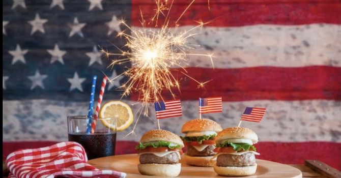 4th of July Cheeseburgers Sunday Lunch!!!