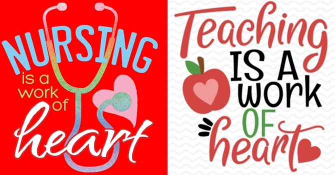 Teachers and Nurses Appreciation Sunday