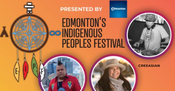 Join the Edmonton Indigenous Peoples Festival Online