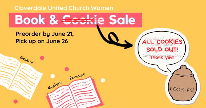 2021 Book & Cookie Sale