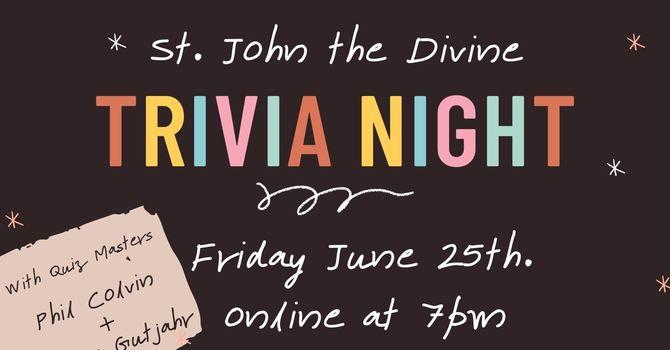 Trivia Night June 25. image