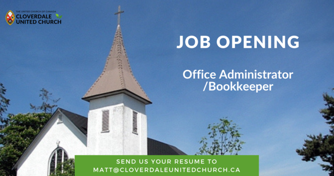 Job Opening - Office Administrator/Bookkeeper