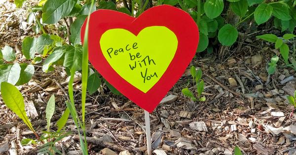St. Augustine's, Edmonton Plants Heart Garden to Remember the Children