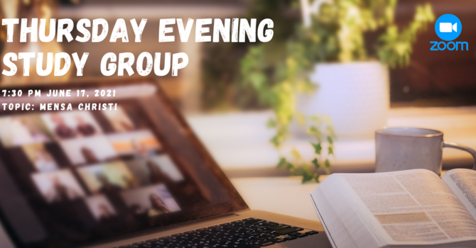 Thursday Evening Study Group