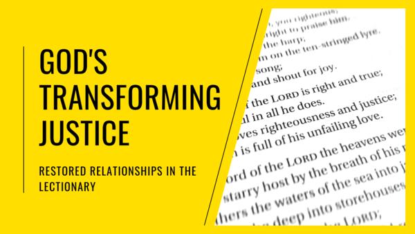 God's Transforming Justice