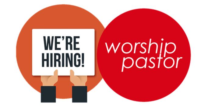Worship Pastor Job Posting