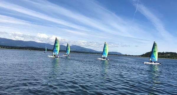 Sailing starts for Grade 7 students
