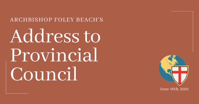 Archbishop Foley Beach's Address to Provincial Council image