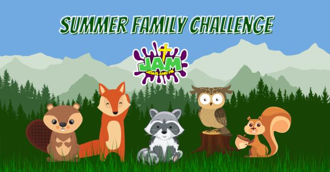 JAM Kids Summer Family Fun Challenge image