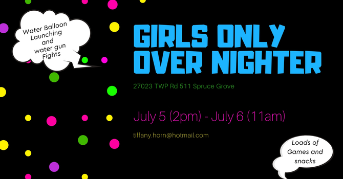 Girls Only Over Nighter