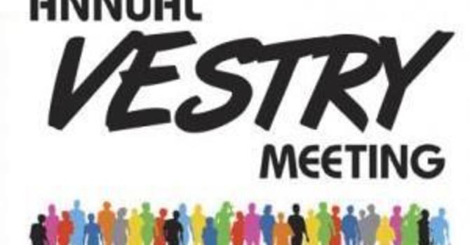 All Saints Annual Vestry Meeting