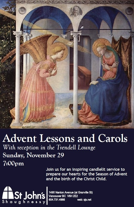 Lessons and Carols Service
