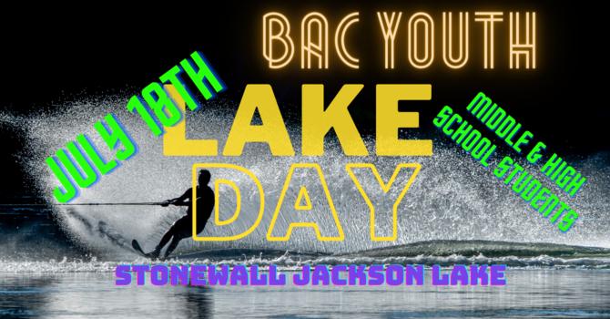 BAC Youth Lake Day
