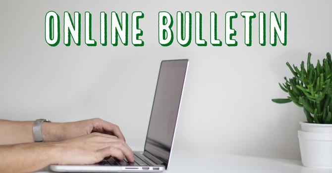 Online Bulletin  image