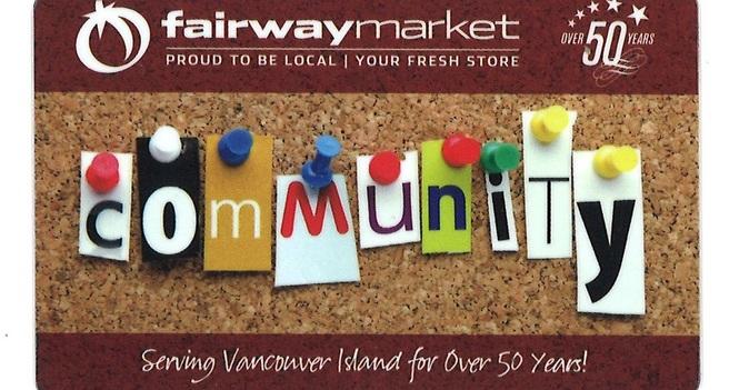 Fairway Market Community Shopping Cards