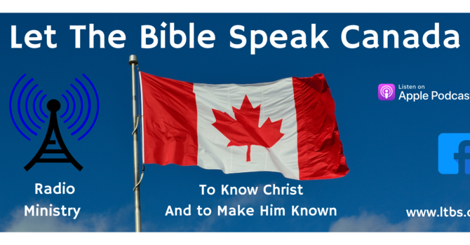 Let the Bible Speak Radio Newsletter image