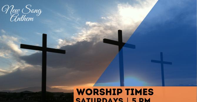 Saturday 5pm Worship Service