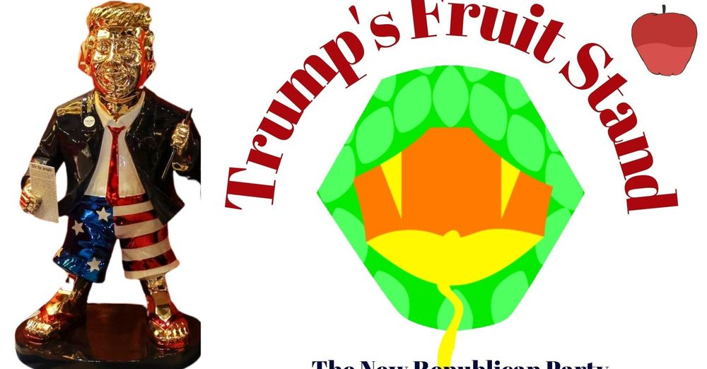 Trump's Fruit Stand