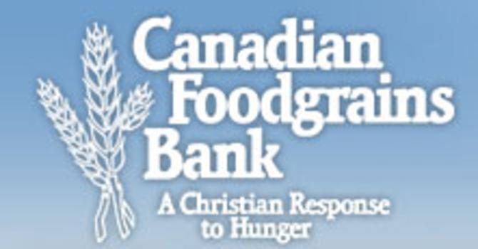 Food Grains Bank Sunday