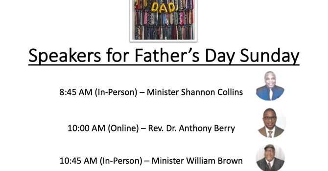 Father's Day Speakers image