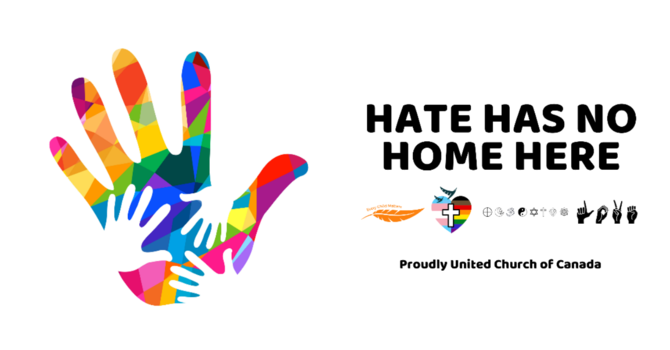 Hate Has No Home Here image