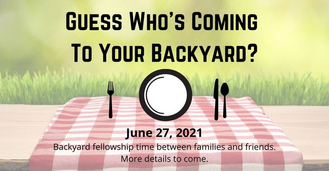 Guess Who's Coming to your Backyard?