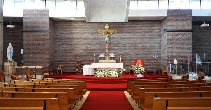 Sunday 7:30pm Mass