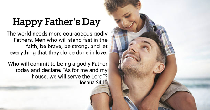 A Call to Fathers