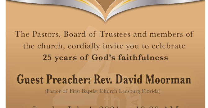 25th Anniversary Celebration of Grace-Trinity UCC