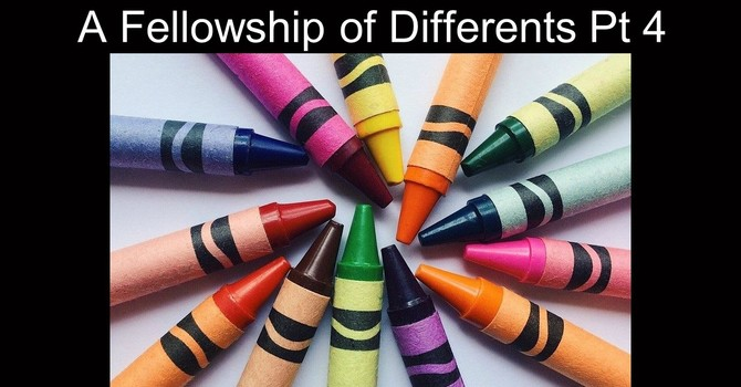 A Fellowship of Differents Part 4