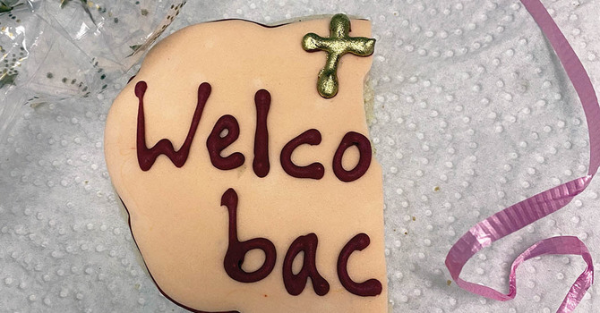 Welcome back to church with a cookie crunch! image