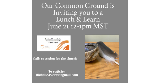 Calls to Action for the Church Lunch & Learn