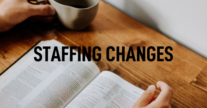 STAFFING CHANGES image