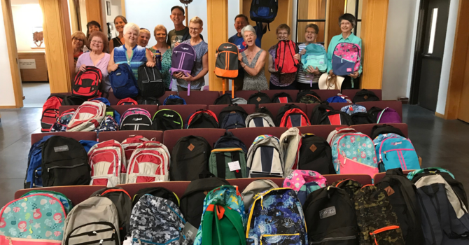 Blessing of the Backpacks Donations image