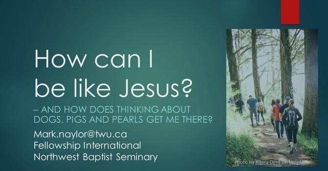 How Can I Be Like Jesus?