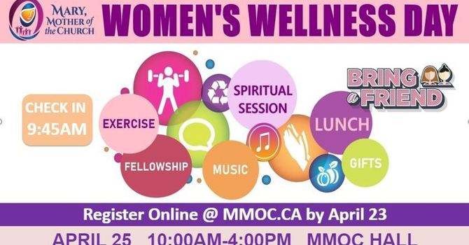 MMOC Women's Wellness Day! Cancelled