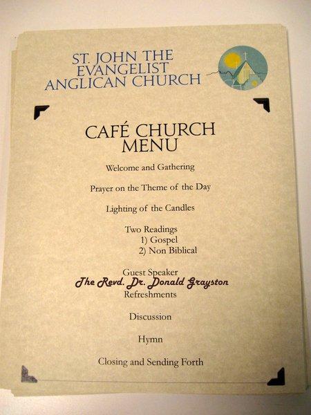 Cafe Church Has A Brand New Season