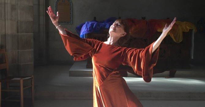 Poetry and Movement as Prayer