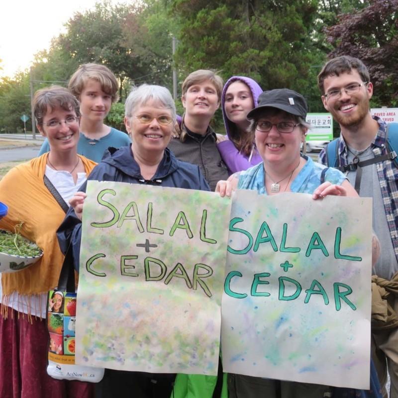 Salal and Cedar Service