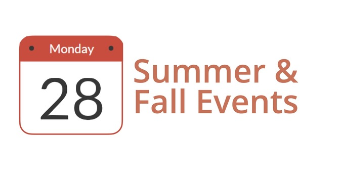 Summer and Fall CityWide Plans