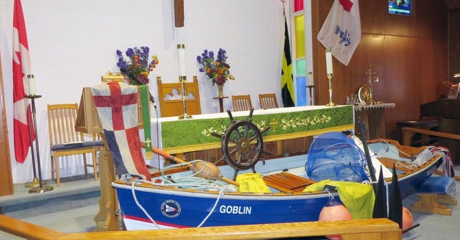St. David's Global Sea Sunday image