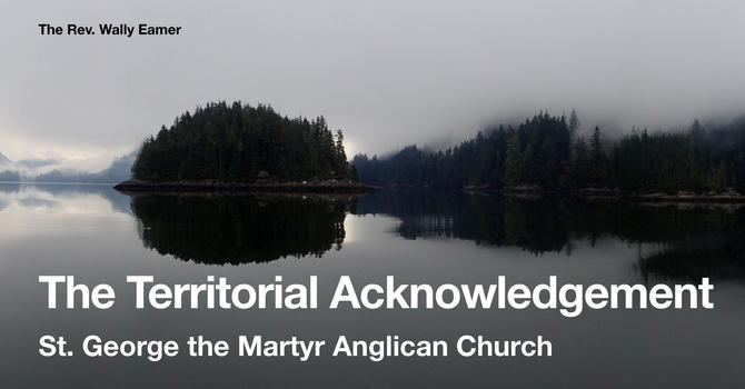 Recording: Wally Eamer - Territorial Acknowledgements image