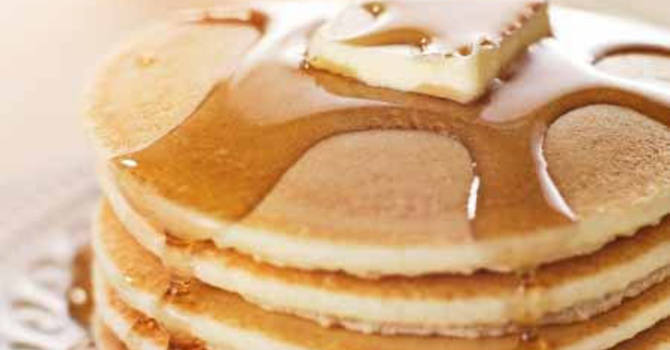 Wesley Men's Annual Shrove Tuesday Pancake Supper