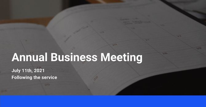 Annual Business Meeting image