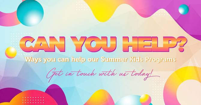 Ways to Help our Summer Kids Programs image