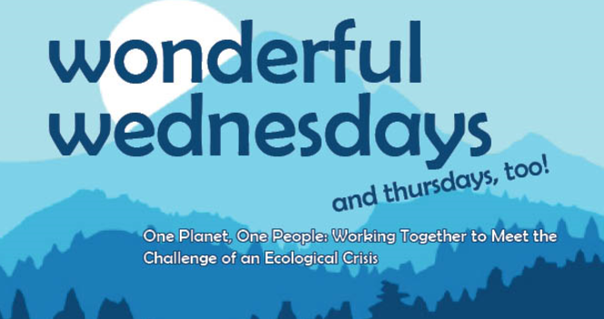 Wonderful Wednesdays Presenter Topics and Information