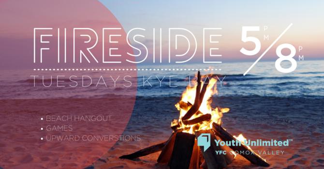 Fireside Beach Night