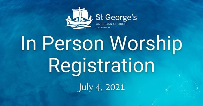 Registration for July 4th in person service image