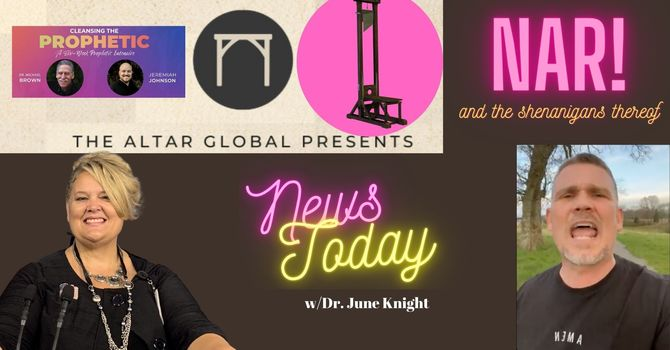 NEWS TODAY w/Dr. June Knight - NAR ALERT - You won't believe this... image
