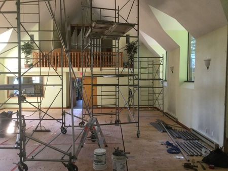 Update (Aug 16) on Structural Remediation of St. Hilda's Sanctuary